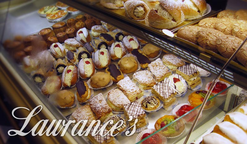 Lawrances fresh cake selection