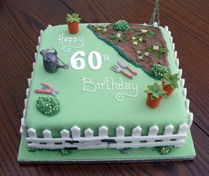 Awe Inspiring Gardening Themed Birthday Cake Lawrances Bakery Funny Birthday Cards Online Overcheapnameinfo